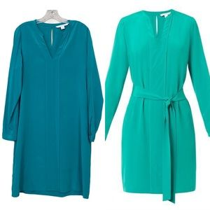 DVF 100% Silk Hilary Dress